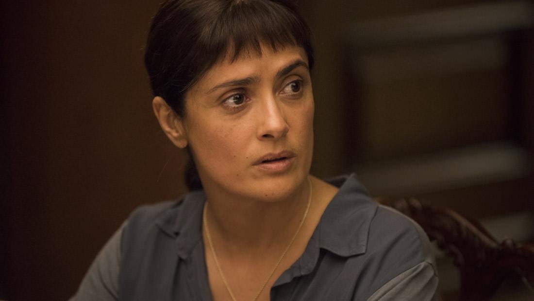 Сальма Хайек в трейлере Beatriz at Dinner
