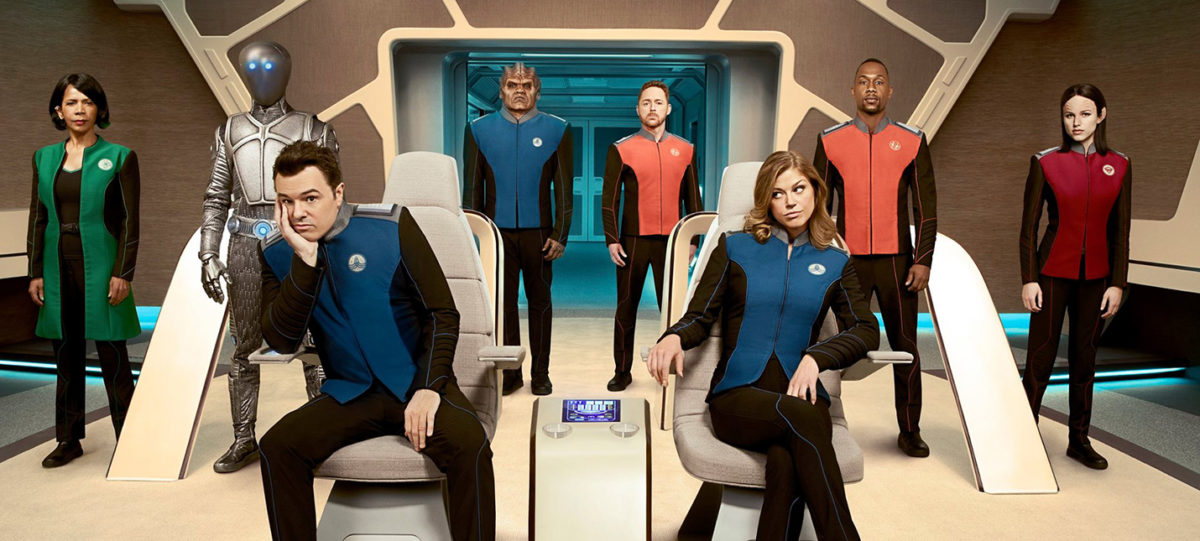 Star Trek ситком: коротко о 1-2 эпизодах сериала «Орвилл»