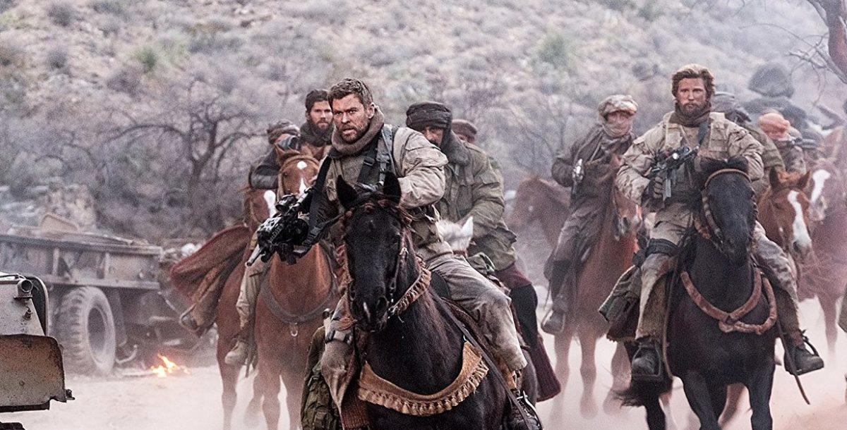 Крис Хэмсворт на коне - трейлер фильма 12 Strong