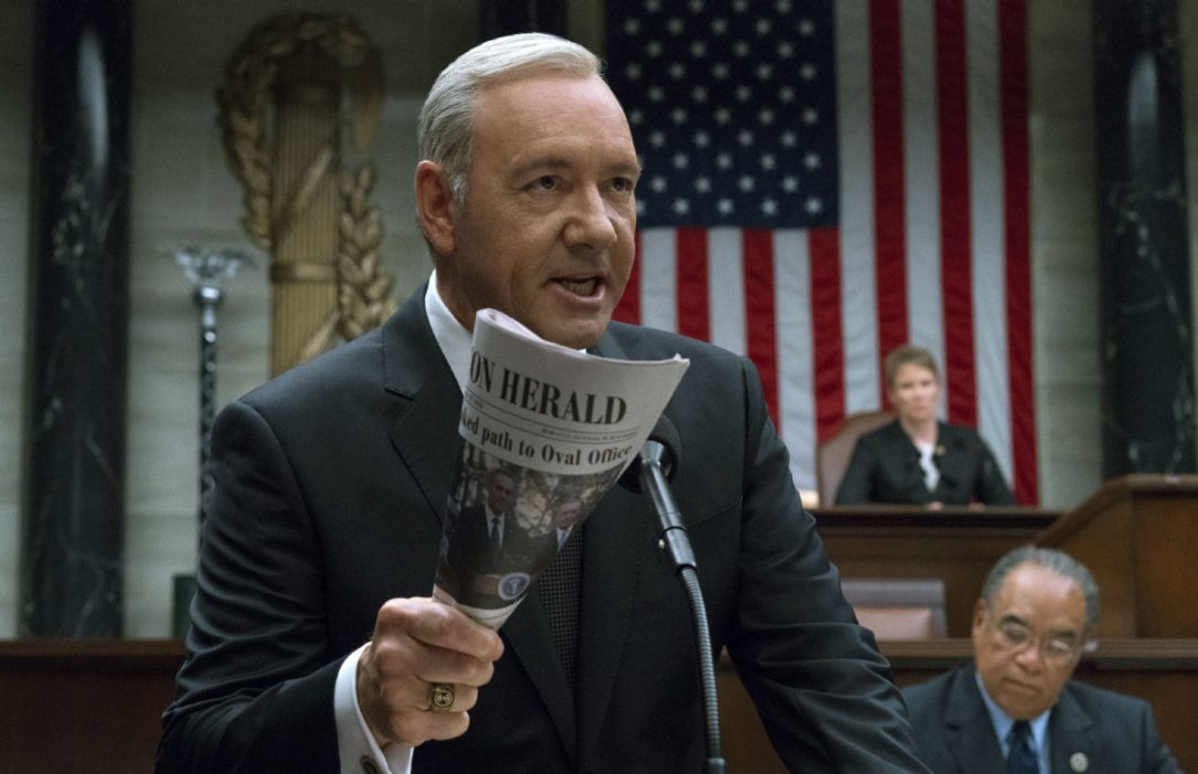 Netflix потеряла почти $40 млн из-за скандала с Кевином Спейси