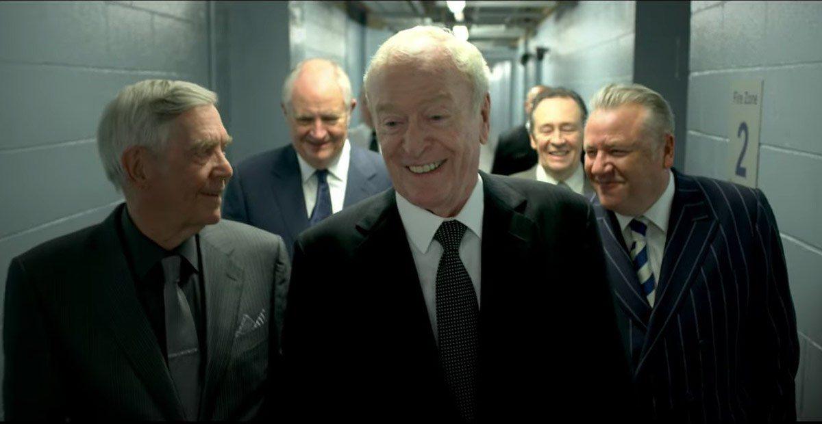 Майкл Кейн и компания грабят банк - трейлер фильма