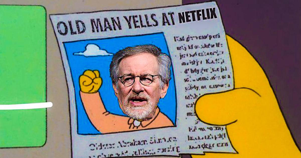 Зачем Стивен Спилберг хочет помешать фильмам Netflix и других сервисов получать