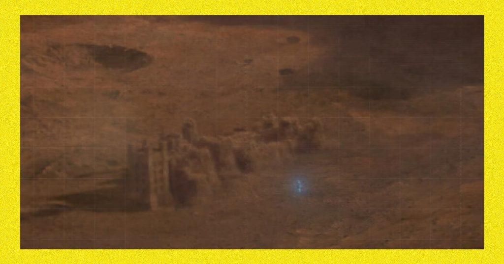 Сериал Хранители - Доктор Манхэттен на Марсе