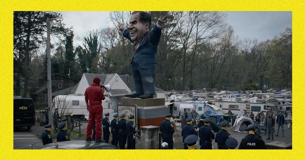 Сериал Хранители - президент Никсон