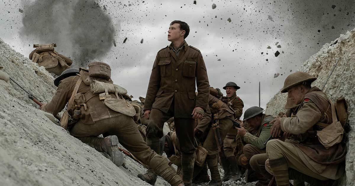 Второй трейлер военной драмы «1917»