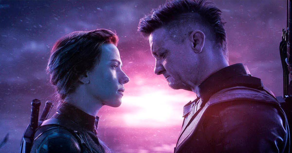 Альтернативная сцена с Черной вдовой из «Мстителей: Финал»