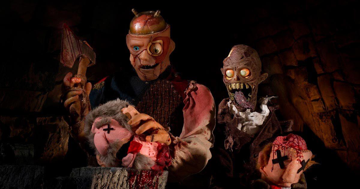 Тизер: кукольный фильм ужасов Frank & Zed