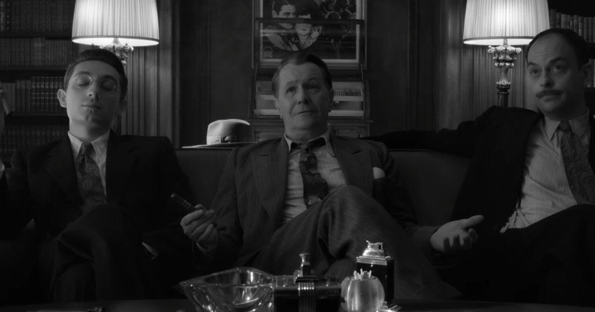 Трейлер: фильм «Манк» Дэвида Финчера от Netflix