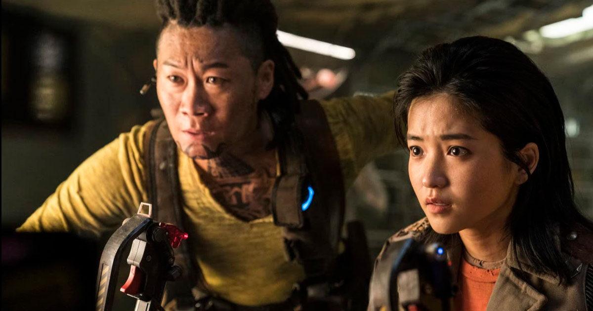 Трейлер: южнокорейский фантастический фильм «Космические уборщики»