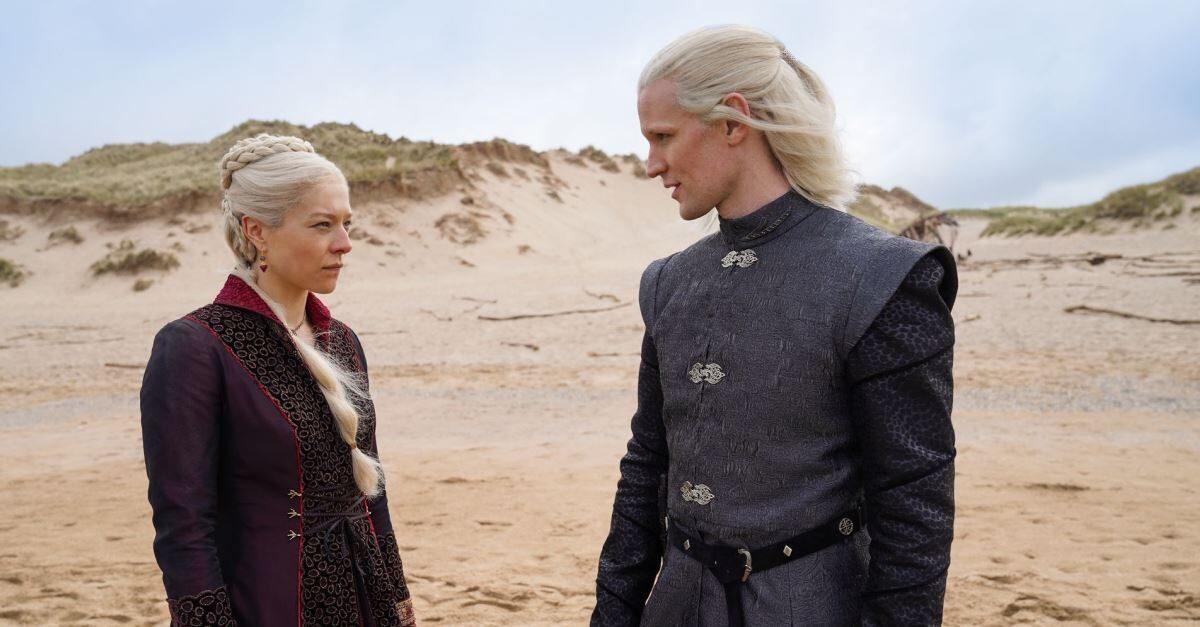 Первый тизер сериала «Дом Дракона» — приквела «Игры престолов»